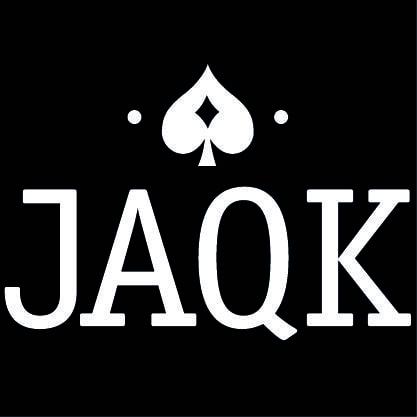 Logo JAQK fond noir
