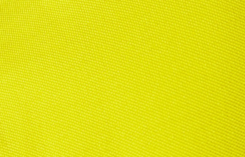 Zoom matiere polo lumbardo jaune