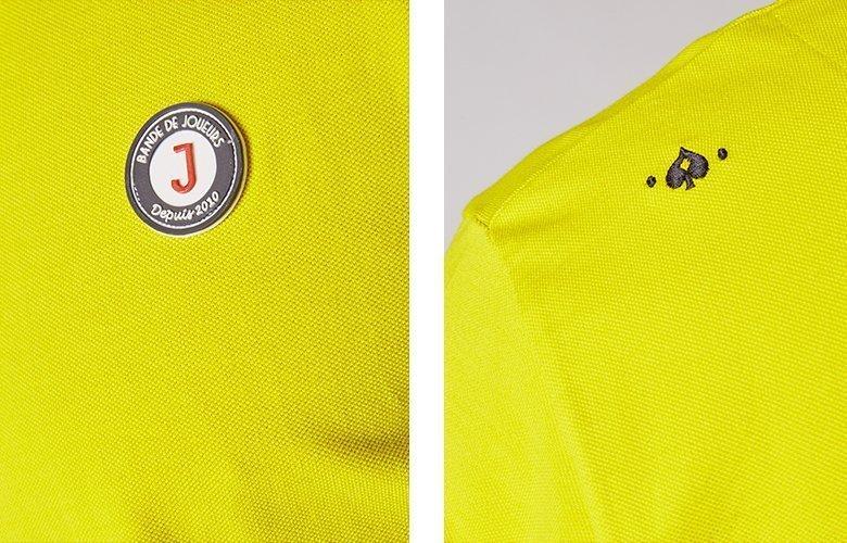 Zoom produit polo lumbardo jaune