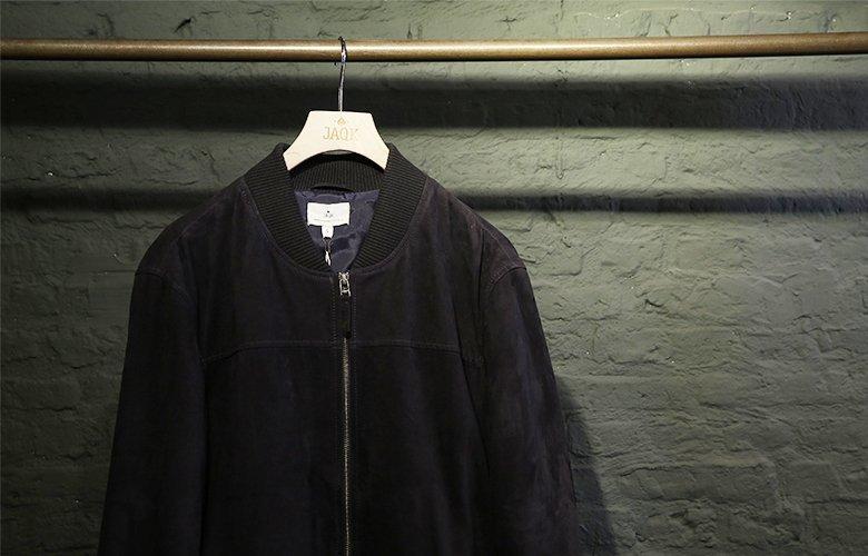 Comment porter veste mac marine cuir marine