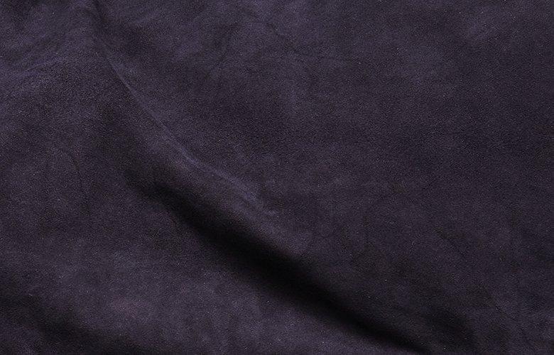 Zoom matière veste mac marine