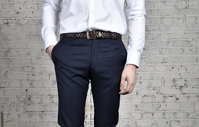 comment porter pantalon magot marine