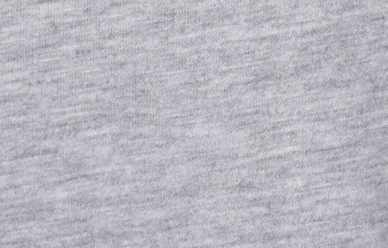 La matière du polo match gris clair chiné