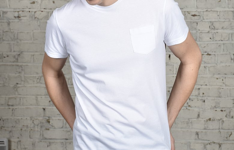 comment porter le t shirt molki blanc