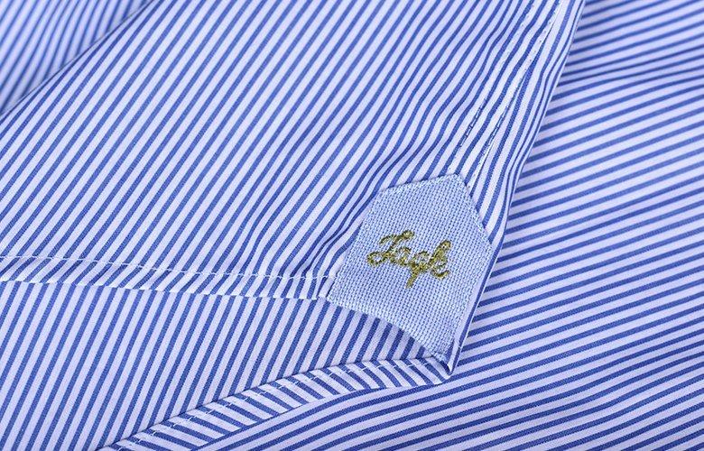 Zoom détails chemise palme anatoli