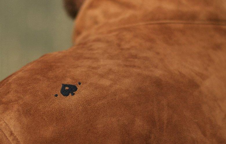 zoom dos Peyton cuir camel