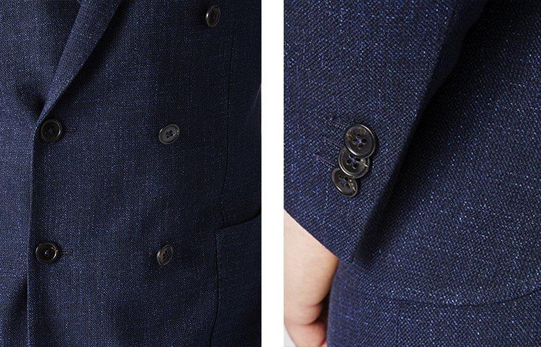 Zoom produit veste rivoli marine