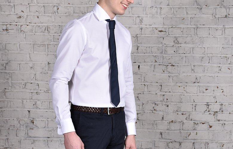 Comment porter lea chemise Royal Hugo