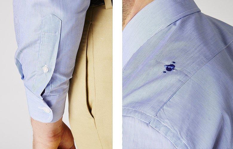 Zoom produit chemise royal ilaria