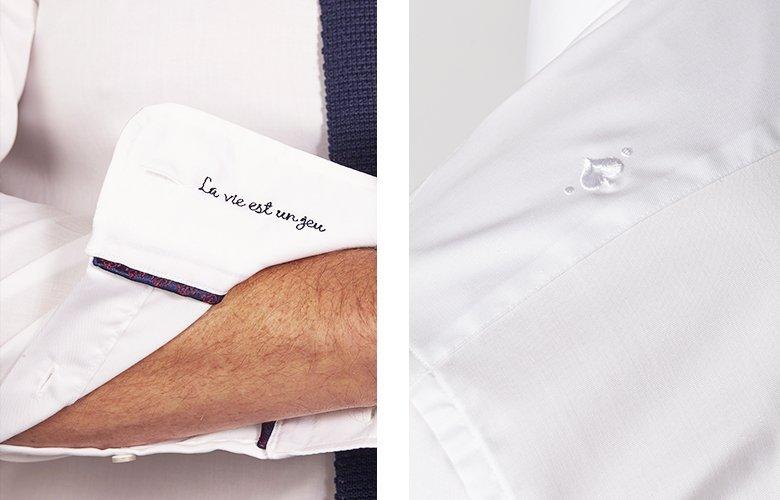 Zoom produit chemise royal raphael