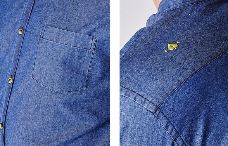 Zoom produit chemise scala bellini