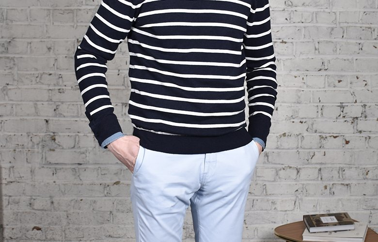 comment porter son pantalon slack ciel