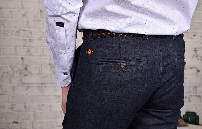 comment porter son pantalon slack denim
