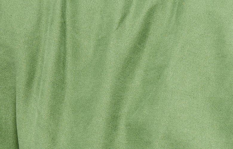 Zoom matière slack vert