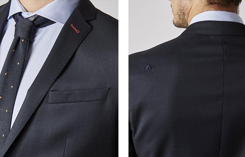 Zoom produit veste Soho marine
