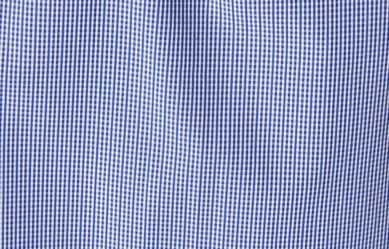 Zoom matiere chemise team Marcus