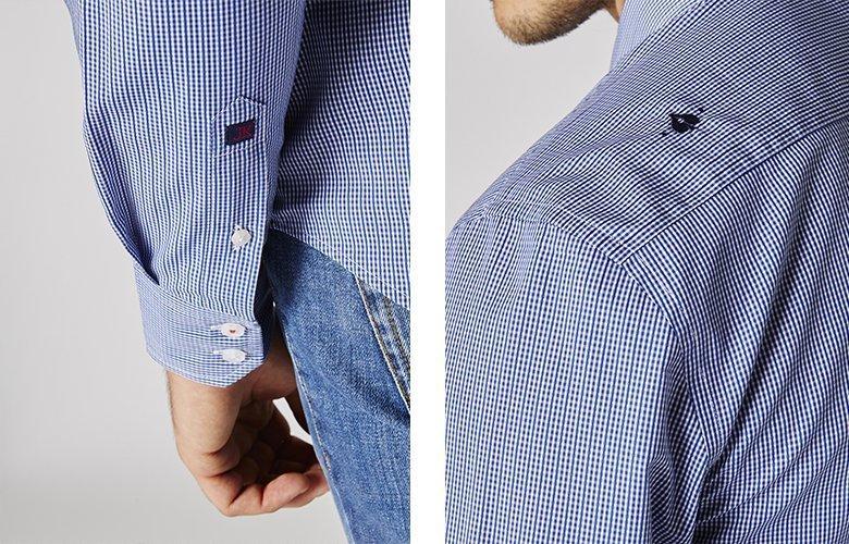 Zoom produit chemise chemise Team Marcus