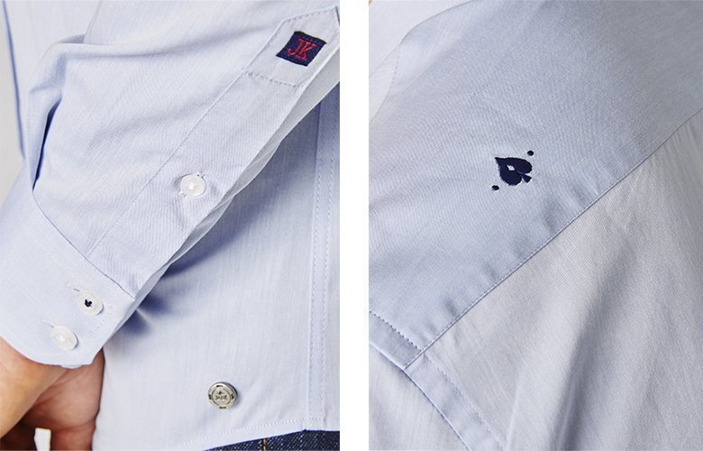 Zoom produit chemise chemise Team Tanguy