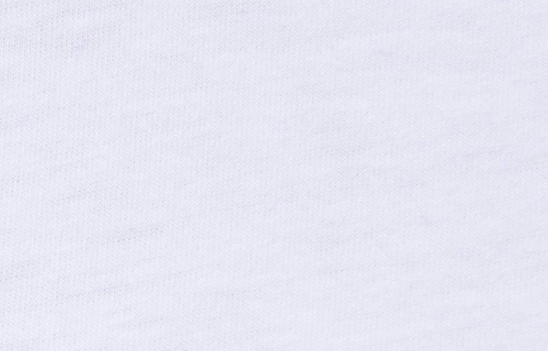 La matière du tshirt tribu blanc