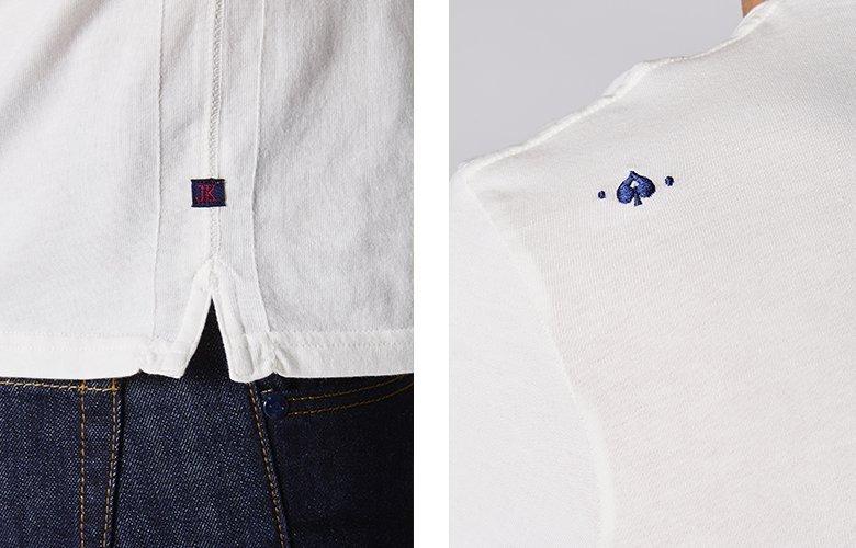 Zoom produit t-shirt tribu vanille