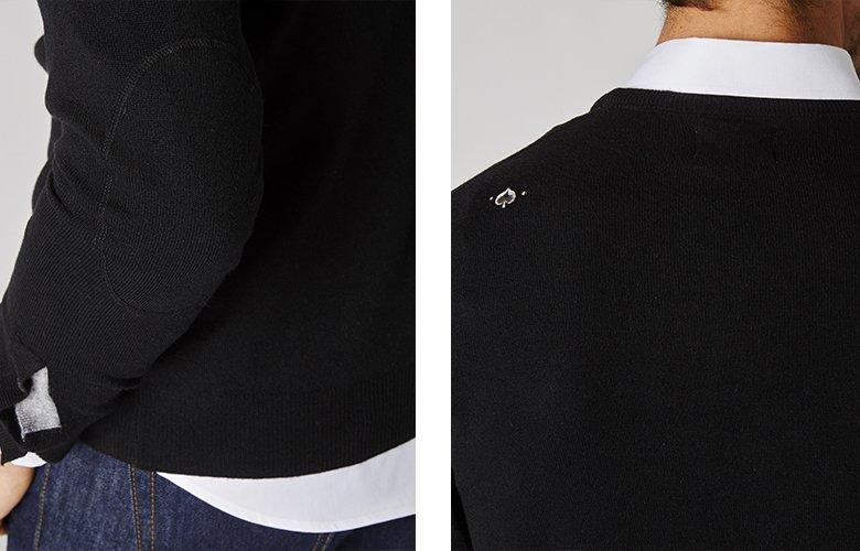 Detail produit pull triomphe noir