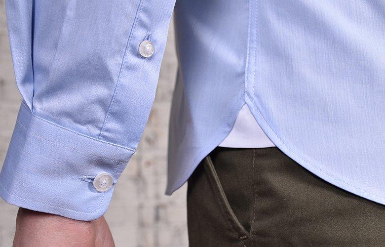 Comment porter la chemise bleu Victoire Ayrton