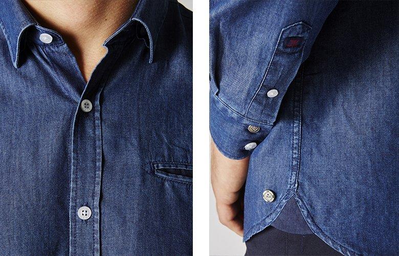 Zoom produit chemise Wheel Bellini