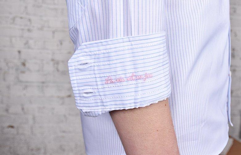 Comment porter la Wheel Florent chemise à rayures