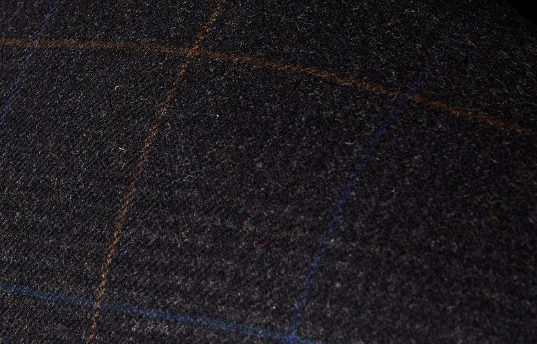 Zoom matière worker kaki