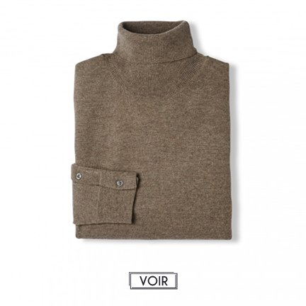 Pull Figaro Taupe Chiné