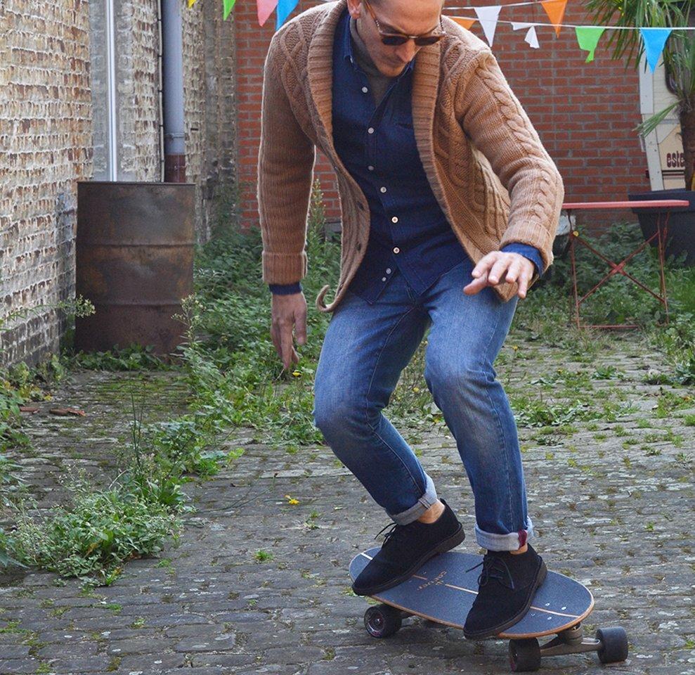 Le skater de la Bande