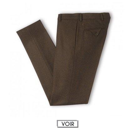 Pantalon de costume magot chevron