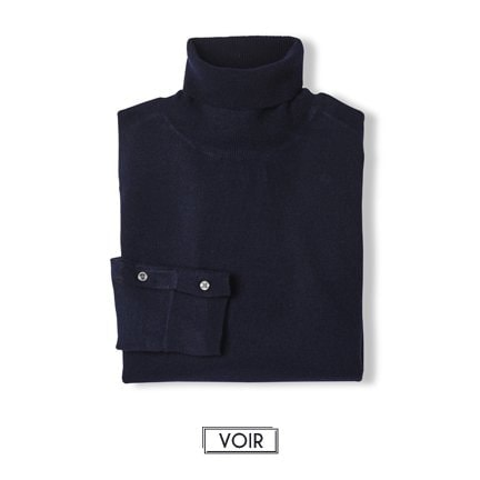 Pull Figaro col roulé