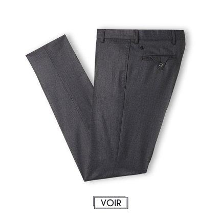 Pantalon de costume gris magot