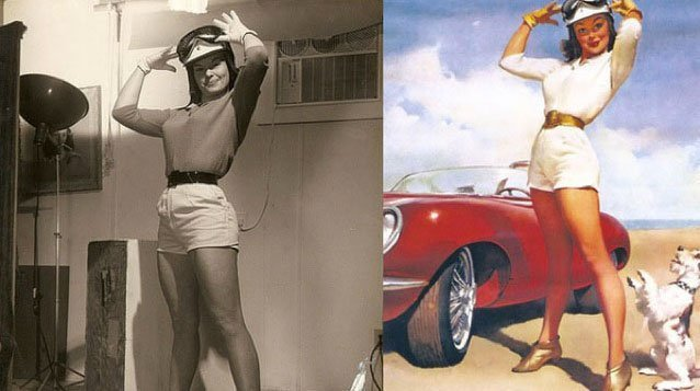 Pin Up en vrai